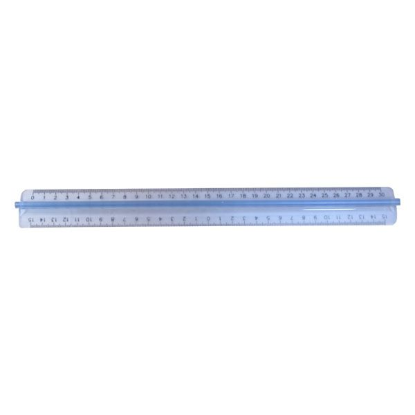 Χάρακας Πλαστικός με Λαβή 30cm