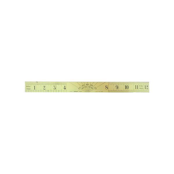 Χάρακας Μεταλλικός 30cm
