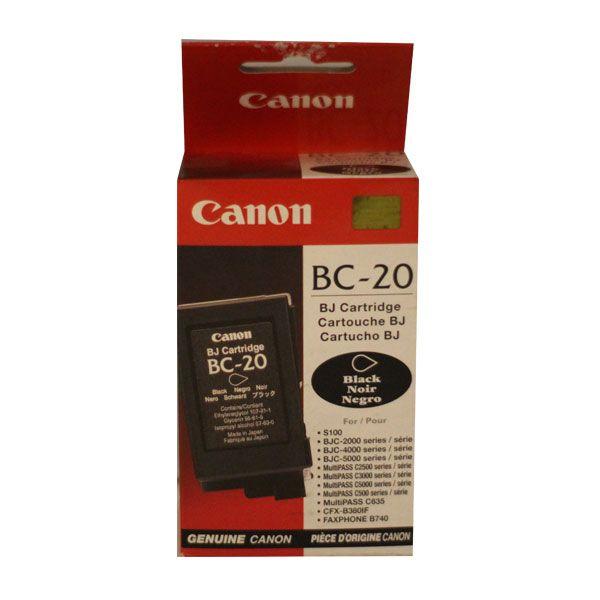 Canon BC-20 Black
