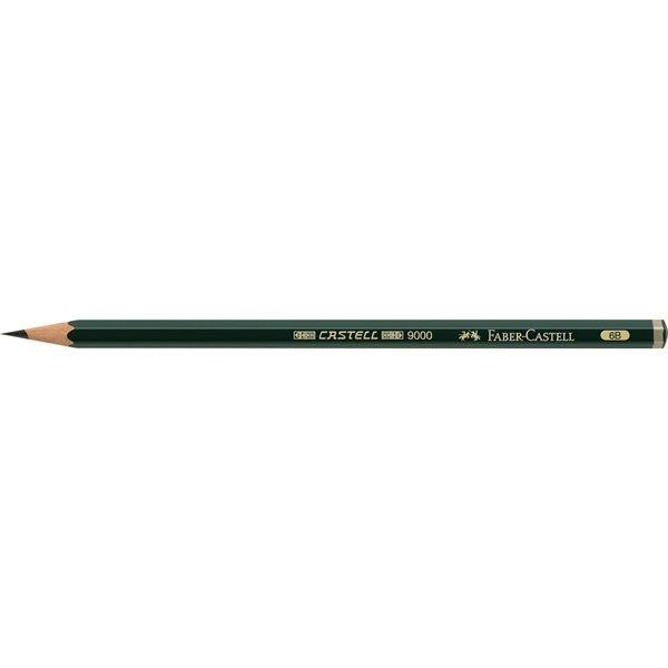 Μολύβι Σχεδίου Faber-Castell 9000 6B