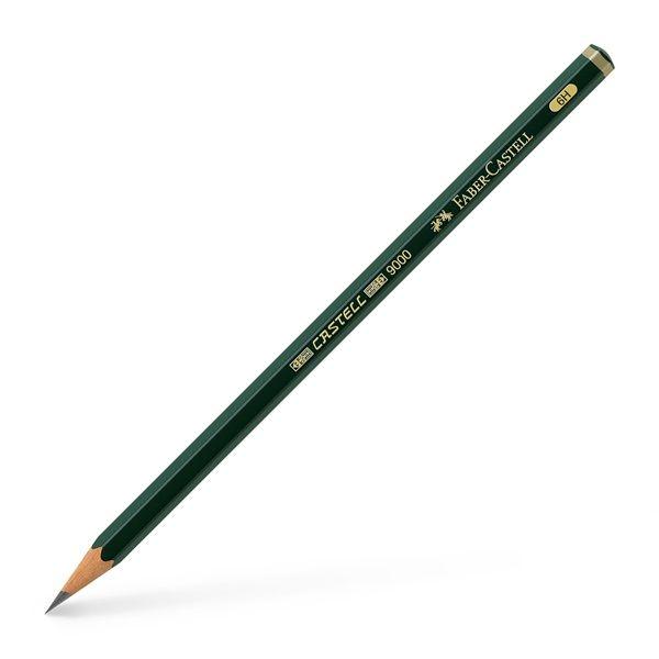 Μολύβι Σχεδίου Faber-Castell 9000 6H