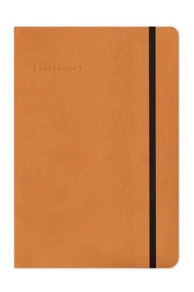 Σημειωματάριο Ριγέ Δερματίνη 14x21