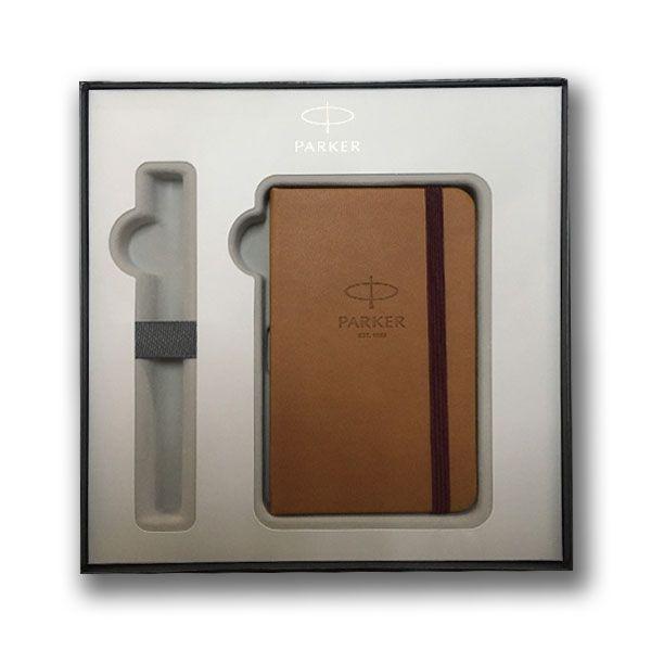 Σετ Δώρου Στυλό Ballpen IM Parker Premium Dark Espresso +Σημειωματάριο