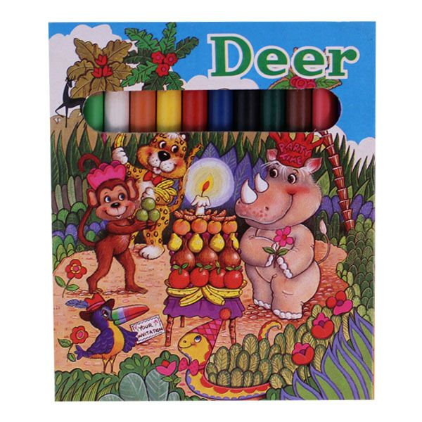 Ξυλομπογιές Deer 12τεμ
