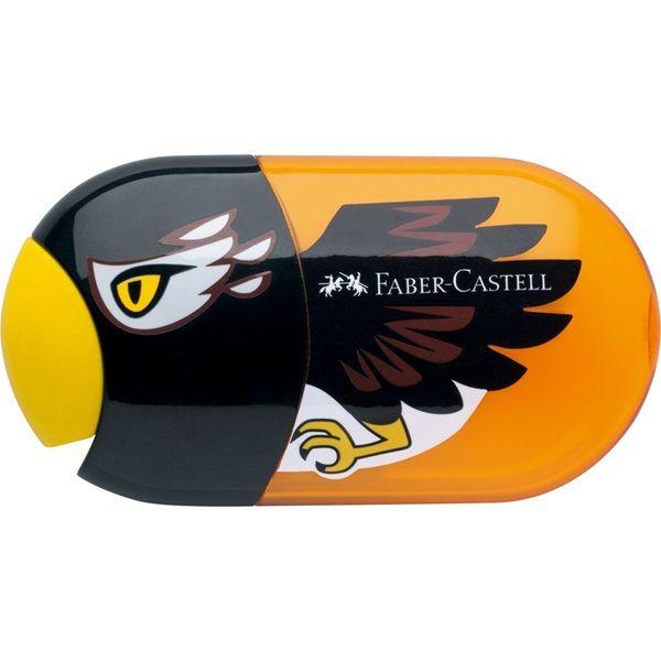 Ξύστρα Διπλή με Γόμα Faber-Castell Αετός