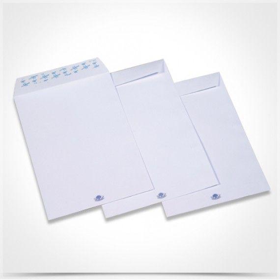 Φάκελα Σακούλας Λευκά Αυτοκόλλητα 25.0x35.3cm