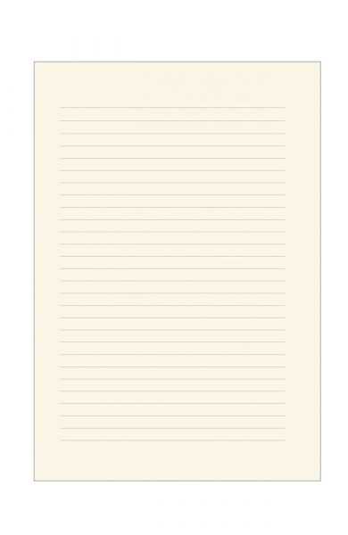 Σημειωματάριο Ριγέ Δερματίνη 17x25