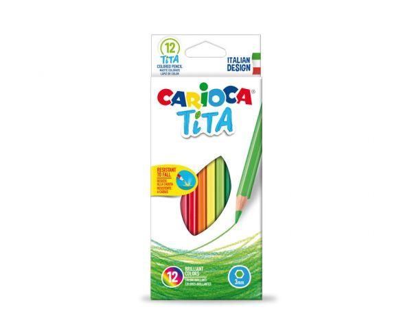 Ξυλομπογιές CARIOCA TITA 12τεμ